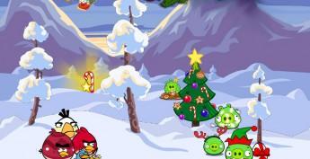 Спектакль Angry Birds в поисках нового года.