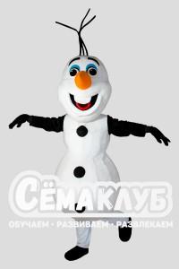 Ростовая кукла Снеговик Олаф из мультфильма «Холодное сердце»