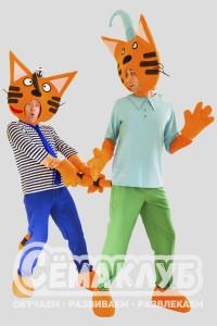 Коржик и Компот из мультфильма «3 кота»